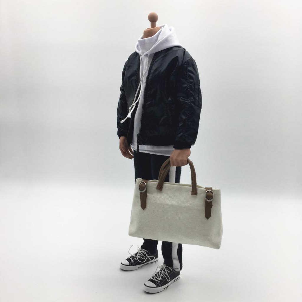 MagiDeal 1/6 весы куртка толстовка сумочка и брюки комплект мужской одежды для 12 дюймов мужчин фигурка кукла игрушка DIY аксессуары