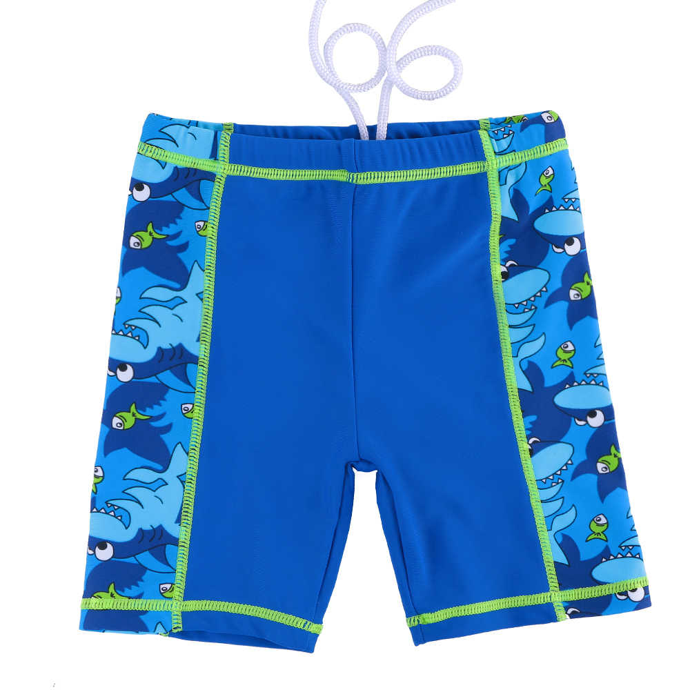 d6ef7d43f6 ... 3-10 Years Boys Swimwear Two Piece Swimsuit Kids Cartoon Shark Pattern  UPF50+ Boy Bathing