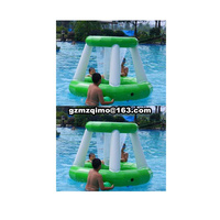 Inflatable basketball games, inflatable kids basketball hoop, inflatable water basketball shoot Hoop for Water Volleyball