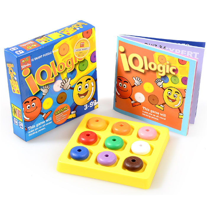 Classic Kids Logic Game Puzzle IQ Mind Brain teaser Educational Puzzles Toy for Children Adults