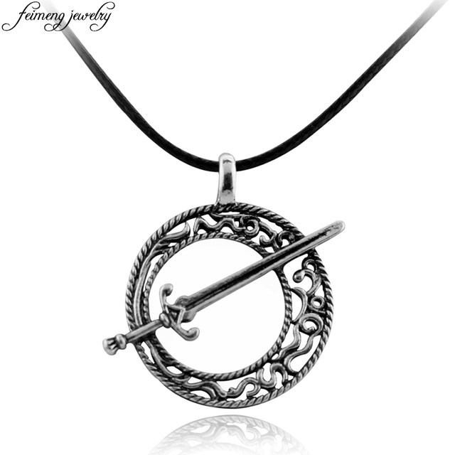 Online shop game dark souls 3 blade of the dark moon sword necklace game dark souls 3 blade of the dark moon sword necklace leather rope vintage silver pendant for women men steampunk jewelry aloadofball Choice Image