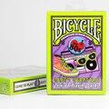 Décadas naipes de la bicicleta en la era de la bicicleta naipes 50 s 60 s 70 s 80 s años accesorios magic tarjeta mgaic
