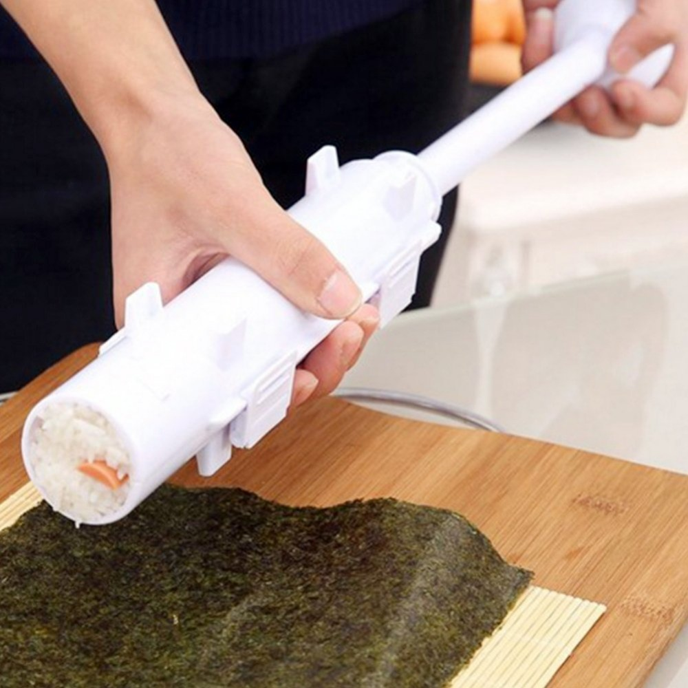 Facemile Bazooka Kits Sushi Mould DIY Sushi Mold Make Tools Tube Roller Cooking Gadgets for Making Kitchen Gadgets Accessories
