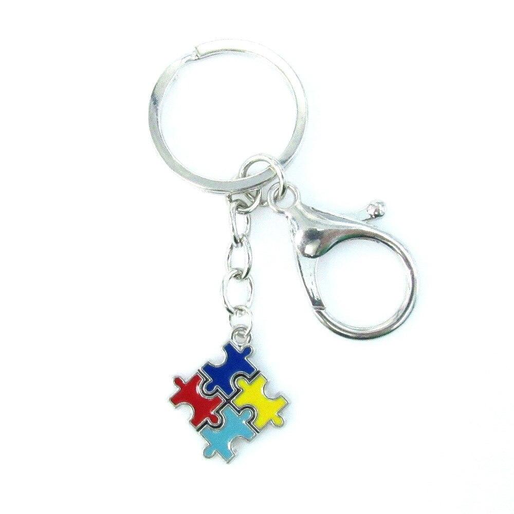 Autism Awareness Key Ring Autism Awareness