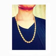 Super 8 mm thick street dance club hip hop necklace tide man