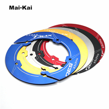 MAIKAI Motorcycle accessories CNC Aluminum Transmission Belt Pulley Cover For yamaha TMAX 530 t-max tmax530 sx dx 2017