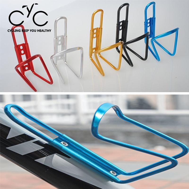 EYCI Portable Colors MTB Cycle Bike Accessories Bicycle Aluminum Alloy Water Bottle Cage Holder Cups Bracket bisiklet aksesuar