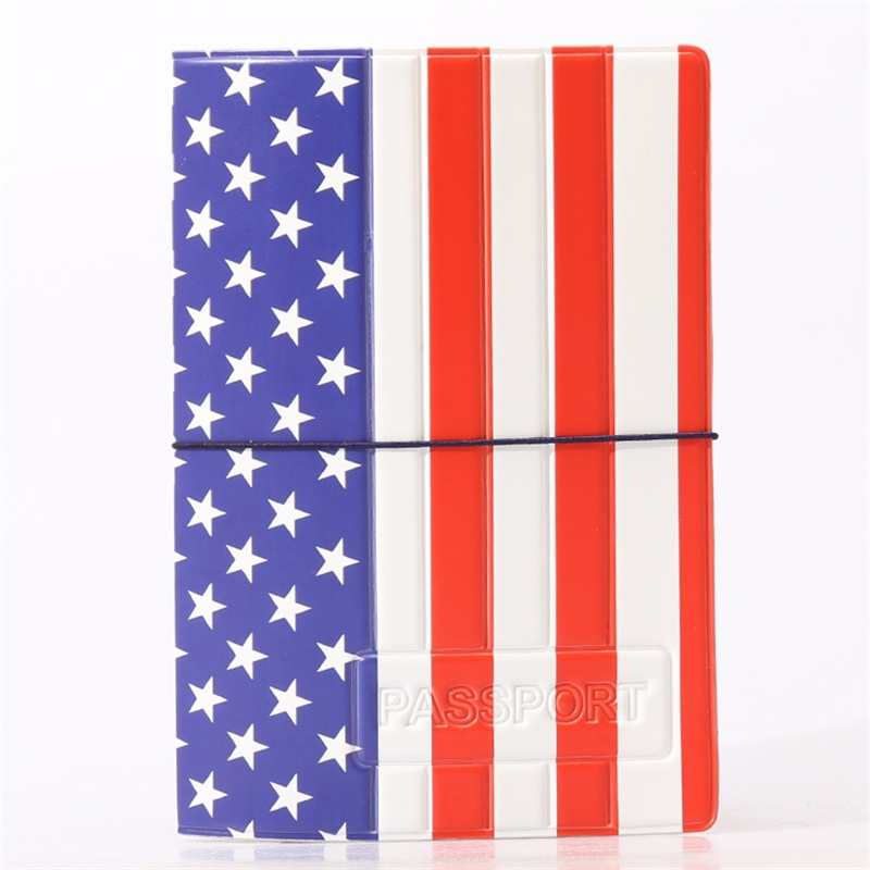 Travel Passport Cover ID Holders Fashion National Flag Passport Holder Documents Bag, Passport Cover Card Case cover to passport