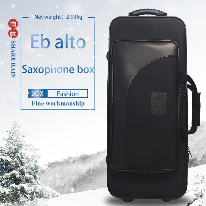 SHARE RAIN Saxophone Box Eb Alto Saxophone Luggage And Bags