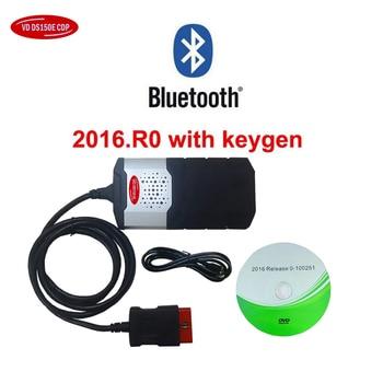 2018 新 vci tcs obd obd2 スキャナ V3.0 リレー 2015R3 keygen の/2016.00 delphis ため vd ds150e cdp bluetooth カー診断ツール