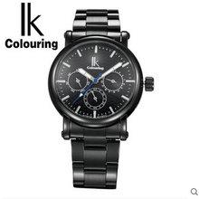 Для ик многофункциональный автоматические механические часы шарм мужской часы водонепроницаемые мужские часы модные случайный часы