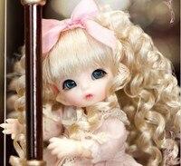 BJD BJD 1/12 escala sobre 10 cm pop/SD mini bonito kid pukipuki ANTE Resina Modelo boneca figura de Brinquedo presente. Não inclui Roupas, sapatos, peruca