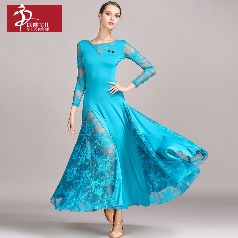 96f5e3f27dc Adults Standard Ballroom Dress Modern Waltz Ballroom Dance Competition  Dresses For Women Standard Dance Dress sleeveless S9022
