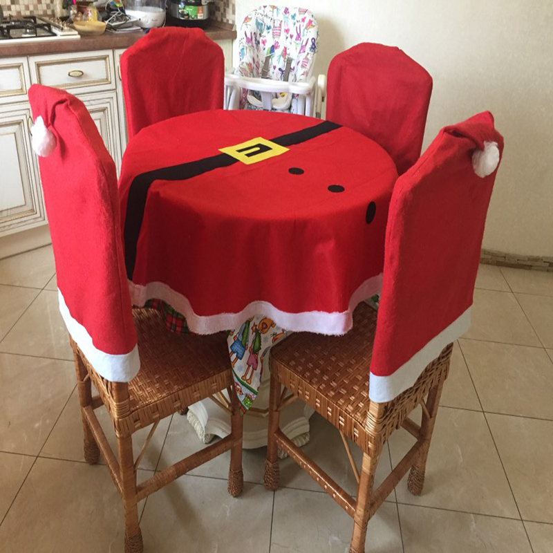 Embroidered Tablecloth Red Color Dining and Coffee Table Cover for Restaurant Banquet Party Dinner Wedding Decoration 148CM