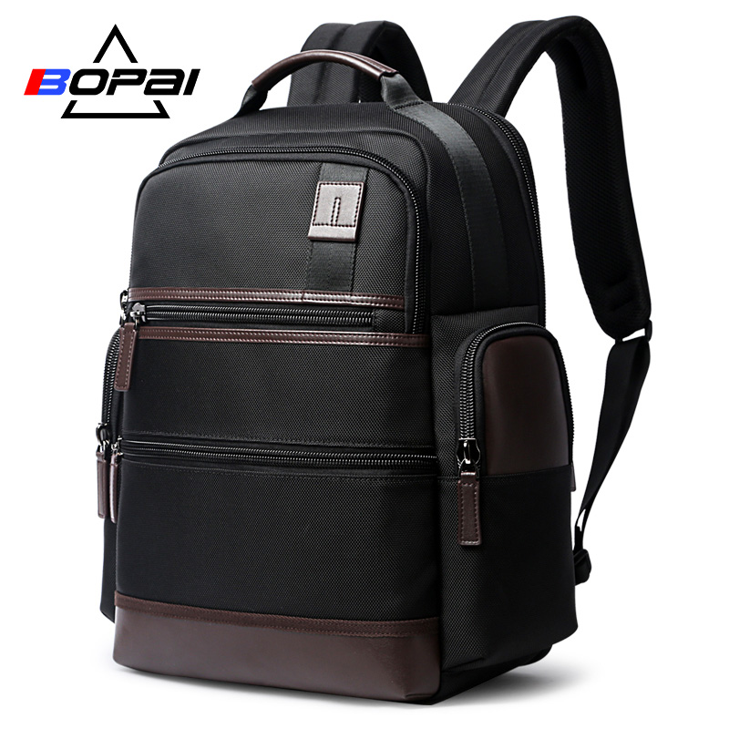 BOPAI USB Charging Anti Theft Laptop Backpack for 15.6inch Laptop Bag Large Capacity Multifunction Casual Men Backpack Travel bopai laptop backpack with usb external charging port for 15 6 inch laptop men anti theft waterproof large capacity travel bag