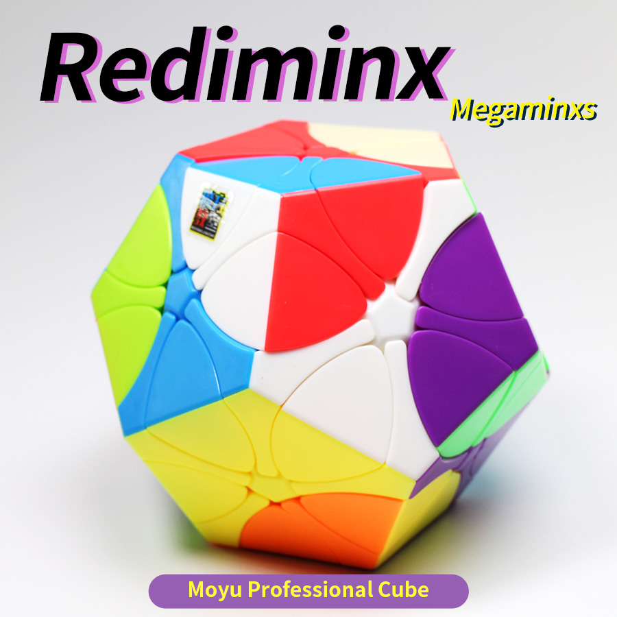 Rediminx Cube 3x3 Magic Cubes 3x3x3 Speed Puzzle Dodecahedron Dino Plum Blossom Megaminxs Toy For Children Cubo Magico Megaminxs