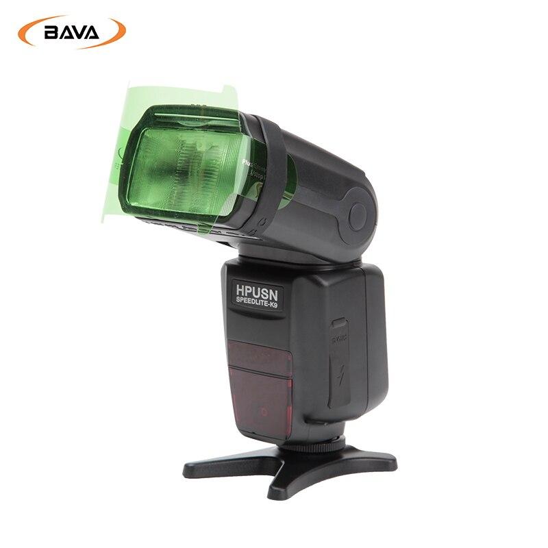 BAVA FLash/Speedlite/Speedlight Kleurgels Filter 20 st Gels Band ...