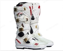 Motocross boots riding boots motorcycle boots male motorcycle racing shoes to protect Shoes