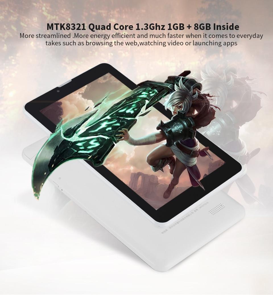 Aoson S7 2G 3G 7 inch Phone Call Tablet PCs 1GB 8GB Android 5.1 1024*600 Quad Core Dual SIM Dual Cam GPS WIFI Bluetooth Phablet