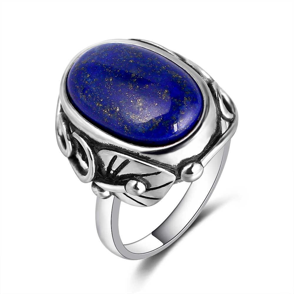 Lapis Lazuli Ring,925 Sterling Lapis Lazuli Ring,Lapis Jewelry,Silver Ring,Gemstone Ring,Blue Stone Ring Anniversary ring Size US available
