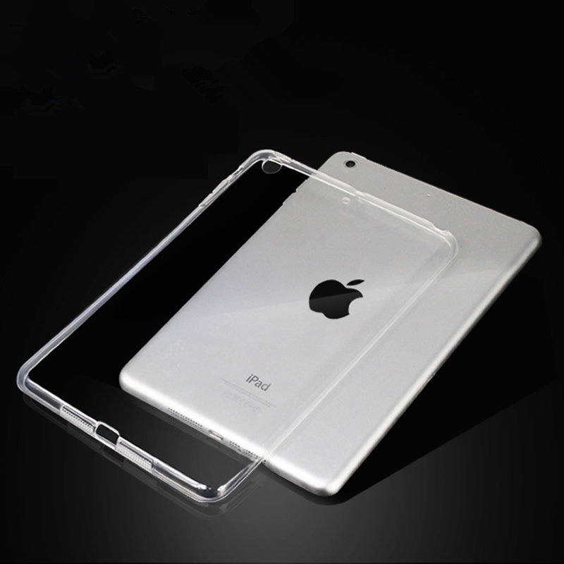 For New iPad 9.7 2017 2018 Case TPU Silicon Transparent Slim Cover for iPad Air 2 Air 1 Pro 10.5 Mini 2 3 4  Coque Capa Funda(China)