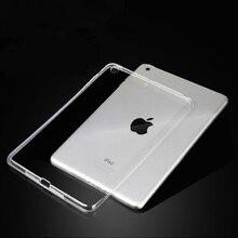 Для нового iPad 9,7 чехол TPU силиконовый прозрачный тонкий чехол для iPad Air 2 Air 1 Pro 10,5 Mini 2 3 4 Coque Capa Funda
