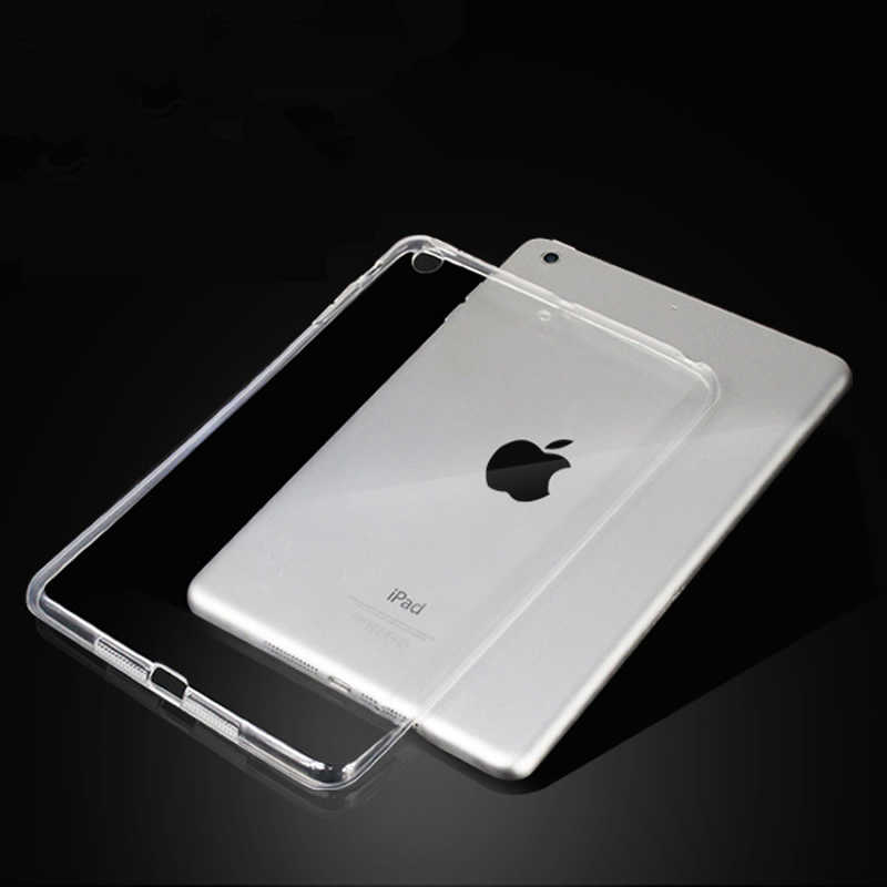 Voor Nieuwe iPad 9.7 2017 2018 Case TPU Silicon Transparant Slim Cover voor iPad Air 2 Air 1 Pro 10.5 mini 2 3 4 Coque Capa Funda