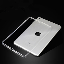 For New iPad 9 7 2017 2018 Case TPU Silicon Transparent Slim Cover for iPad Air 2 Air 1 Pro 10 5 Mini 2 3 4 Coque Capa Funda cheap Kumuge Protective Shell Skin 9 7 Solid 25cm For Apple iPad iPad 9 7 inch 2017 Fashion For New iPad 9 7 inch 2018 Drop resistance