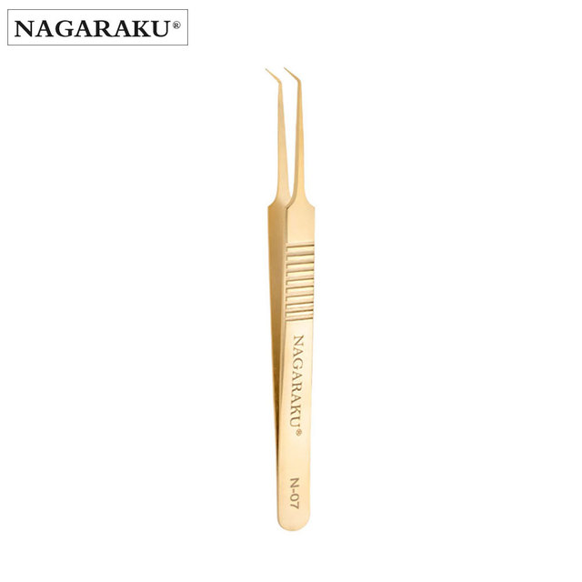 NAGARAKU Make-up-Tools Wimpern Pinzette Fans Wimpern Einfach zu Fan Russische AccurateVolume Pinzette Auto-fans N-07