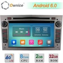 Android 6.0 Octa Core 2GB RAM 32GB ROM 4G BT DAB Car DVD Multimedia Radio For Opel Astra Vectra Corsa Meriva Antara Tigra Combo