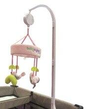 35 Song Rotary Mobile Crib Bed Clockwork Movement Music Box Newborn Bell Crib Educational Baby Toys @ NSV775 цена