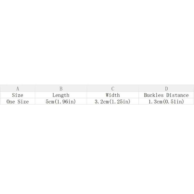 נשים חזיית רצועת Extender 3 שורות 2 ווי מרווח אבזם חזייה תפירת כלים חדש