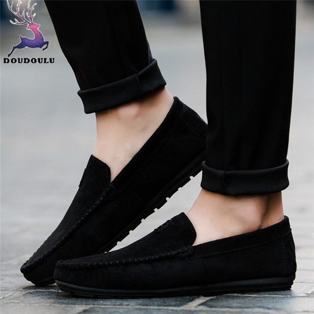 Летняя Стильная мужская обувь; Стильная мужская повседневная и удобная однотонная мужская обувь для вождения; zapatos hombre; большие размеры 39-44