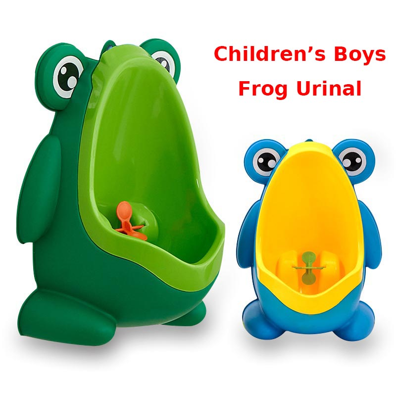 Baby Urinal For Children Potty Toilet Training Frog Stand Vertical Portable Travel Potty Boys Girls Pee Potty Infant Urination