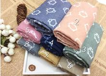New Fashion Pure Cotton Scarf Cartoon cat warm scarvesscarves  for  girl's  wholesale SC007
