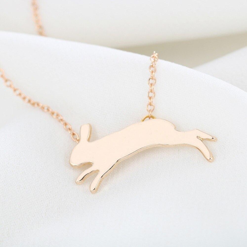 Todorova Running Rabbit Necklace