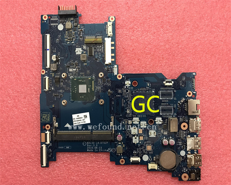 laptop Motherboard For 14-AM 15-AY LA-D702P 854944-001 854944-501 system mainboard Fully Tested