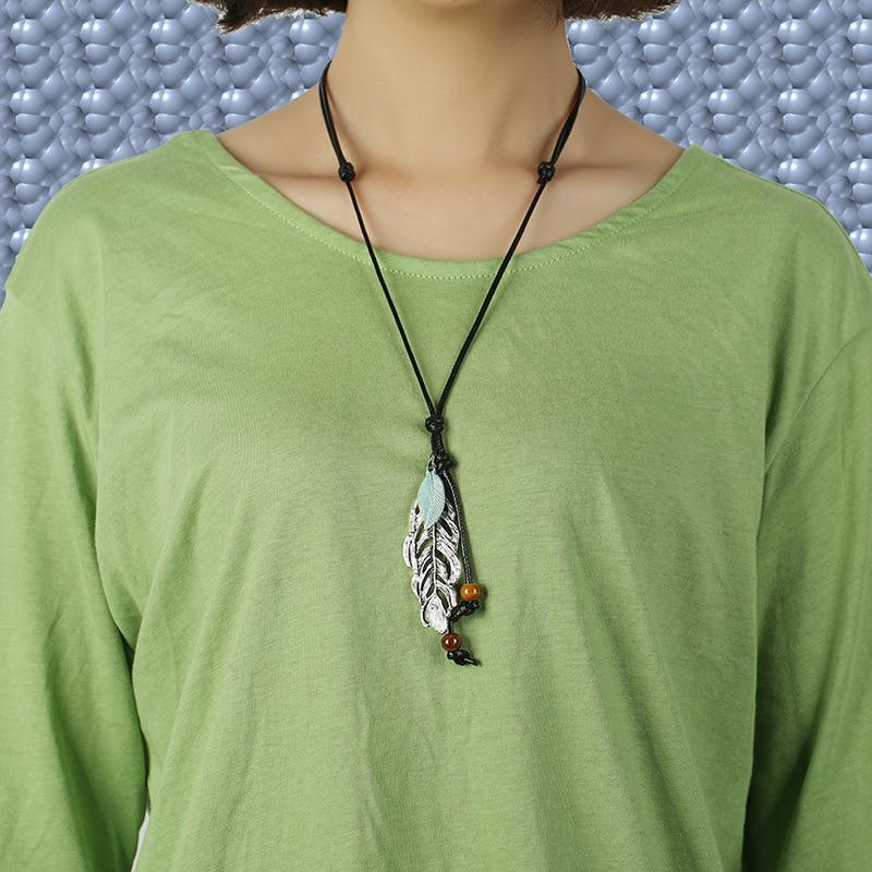 Long Sweater Necklace Pendant Charm Fashion Jewelry Ethnic Boho Retro Vintage