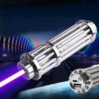 USB High Power Blue Laser Pointer 450nm 500000mw Lazer Pen Light Adjustable Focus Burning Match Lit