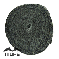 SPECIAL OFFER 12m 2 Lava Heater Exhaust Manifold Header Heat Wrap Black