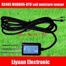 1 pièce RS485 MODBUS RTU capteur dhumidité du sol/capteur 5 24V détecteur de sol/sol livraison gratuite