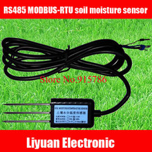 1pcs RS485 MODBUS RTU soil moisture sensor / 5 24V sensor soil / soil detector free shipping