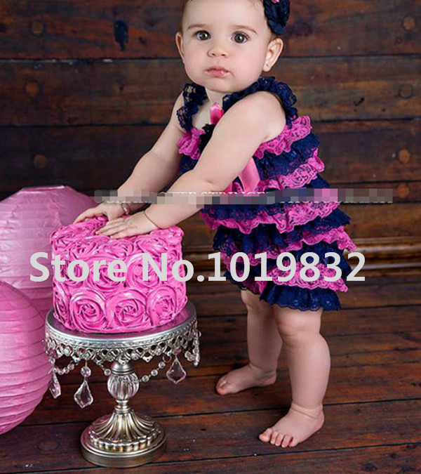 Baby Romper Newborn Babay Lace Petti Romper Infant Girl Jumpsuit Toddler Birthda