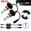Pair G7 LED Headlight Conversion Kit 9012 HIR2 8000Lm Replacement Bulb (WITH DRIVERS)PHILIPSLUXEON ZES Chips For Halogen & HID