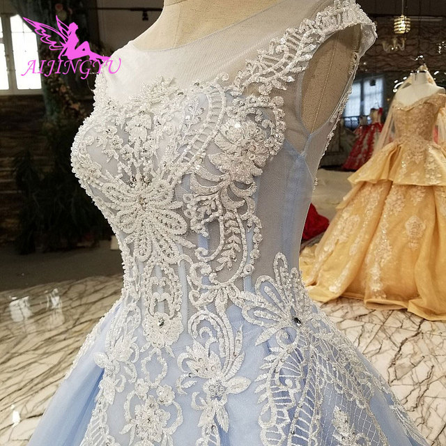 US $200.0 |AIJINGYU Wedding Dresses Lace Ball Gown Simple Gowns Shops Train  Plus Size Mother Of The Bride White Wedding Dress Canada-in Wedding ...