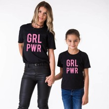 Mother Daughter Son Outfits GRL POWR Mother Kids