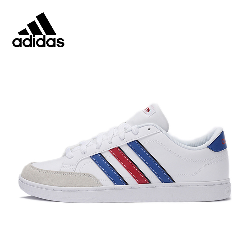 Official New Arrival Adidas NEO COURTSET Men's Low Top Skateboarding Shoes Sneakers Classique Shoes Platform кроссовки adidas neo adidas neo ad003amura29