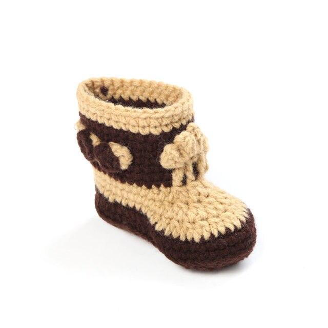 Tienda Online Cowboy set sombrero del bebé del ganchillo botines set ...
