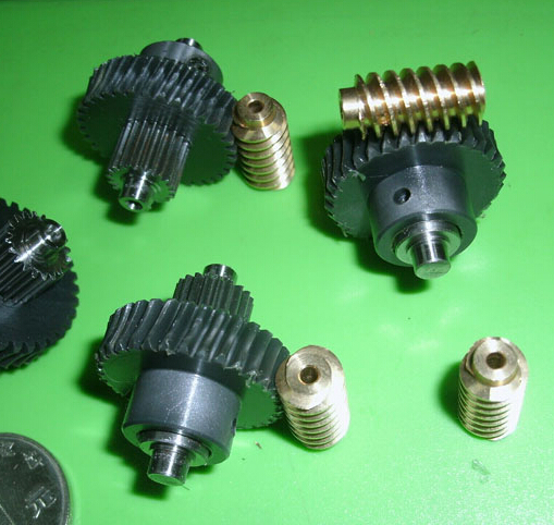 1:17 Combination Small Worm Gear Reducer Gearbox DIY Model Toy Parts 30pcs lot toggle switch with mounting hole 2 stalls circuit components diy model parts small toy switches