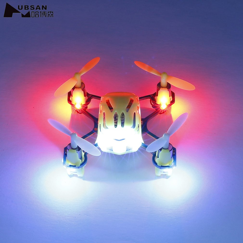 HUBSAN Brand Palm Size Q4 H111 4-CH 2.4GHz Remote Control Mini Professional RC Quadcopter Flying Helicopter RC Toys for Kids
